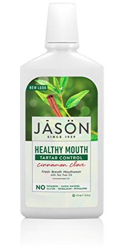 JASON Healthy Mouth Tartar Control Mouthwash, Cinnamon Clove, 16 oz. (Packaging May Vary)