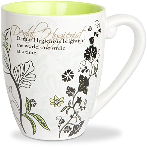 Mark My Words Dental Hygienist Mug, 4-3/4-Inch, 20-Ounce Capacity