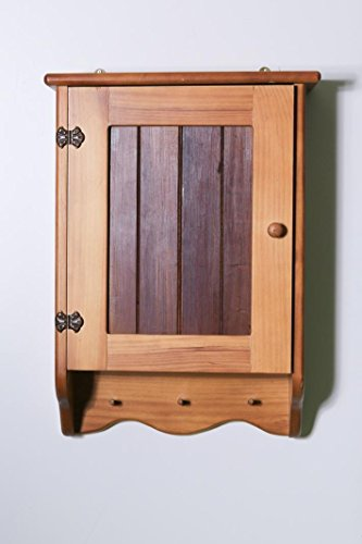 Bathroom Cabinet - Wooden - 3 Shelves - Timber Front