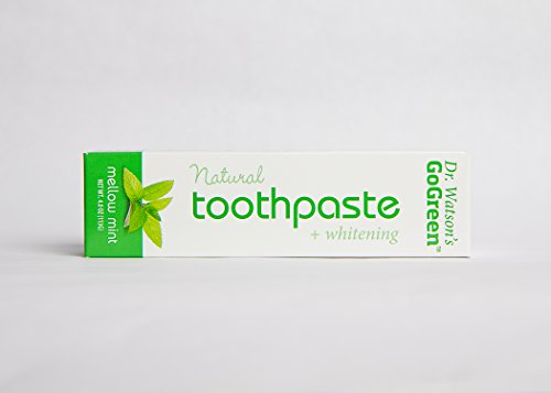 Dr. Watson's Go Green Toothpaste- Mellow Mint